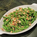 Green Beans with Toasted Almonds and Olive Oil