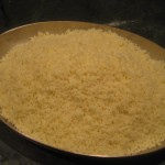 Steamed Couscous