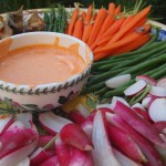 Summer Vegetable Platter with Rouille