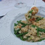 Green Curry Shrimp Risotto