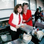 Karen and I Cooking Pancakes at a Carey Event (2)